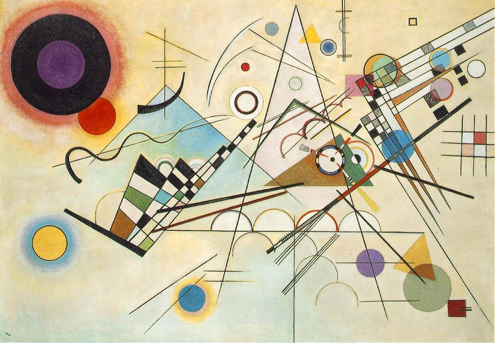 Wassily Kandinsky, Composition VIII, 1923, The Solomon R. Guggenheim Museum, New York, NY
